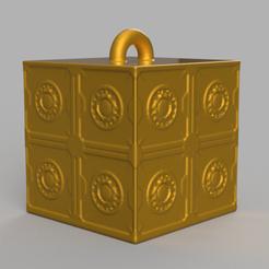 11 rendu 1 .png Download STL file Garland cube • Model to 3D print, motek