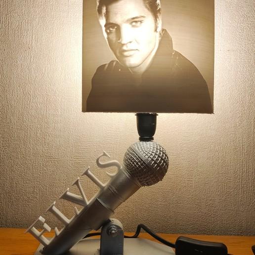 Download STL file Elvis Presley Lamp, Motek3D
