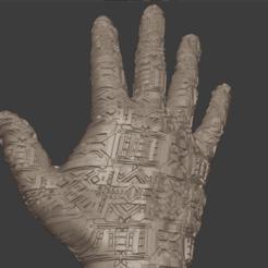 Descargar diseños 3D Mano electrónica, Motek3D