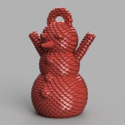 4.png Télécharger fichier STL Bonhomme de neige • Design imprimable en 3D, motek