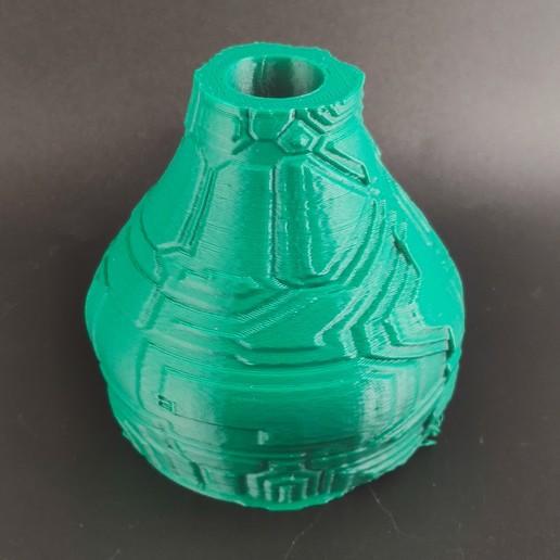 IMG_20200718_224425.jpg Download STL file Techno Vase • 3D print model, motek