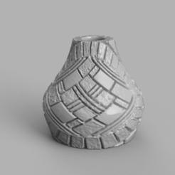 Télécharger STL gratuit Vase motif, Motek3D