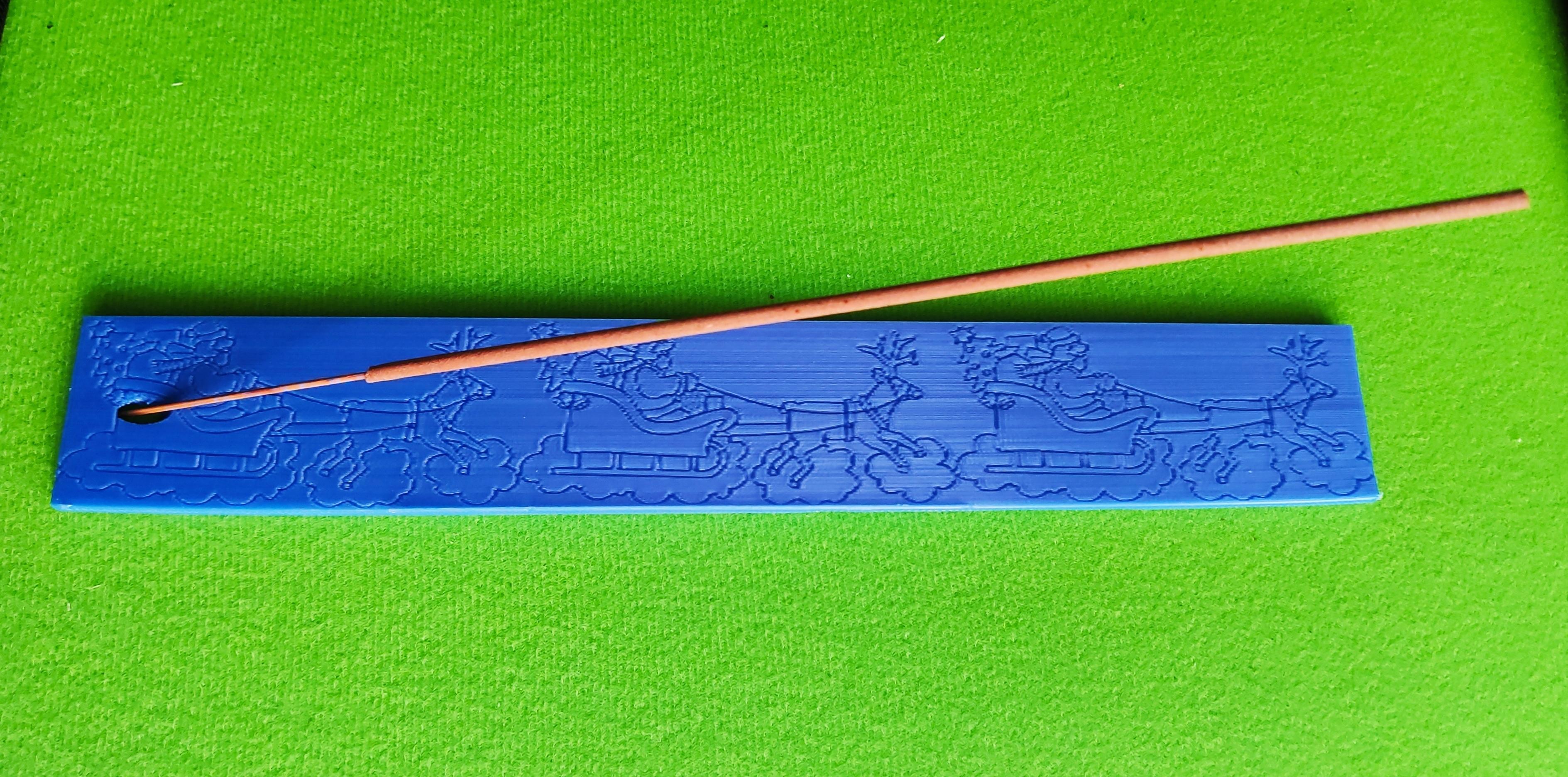 IMG_20191119_122259.jpg Download free STL file christmas incense holder / porte-encens • 3D printable model, Motek3D