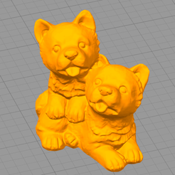 Download free STL file Dog • 3D printing model, Motek3D