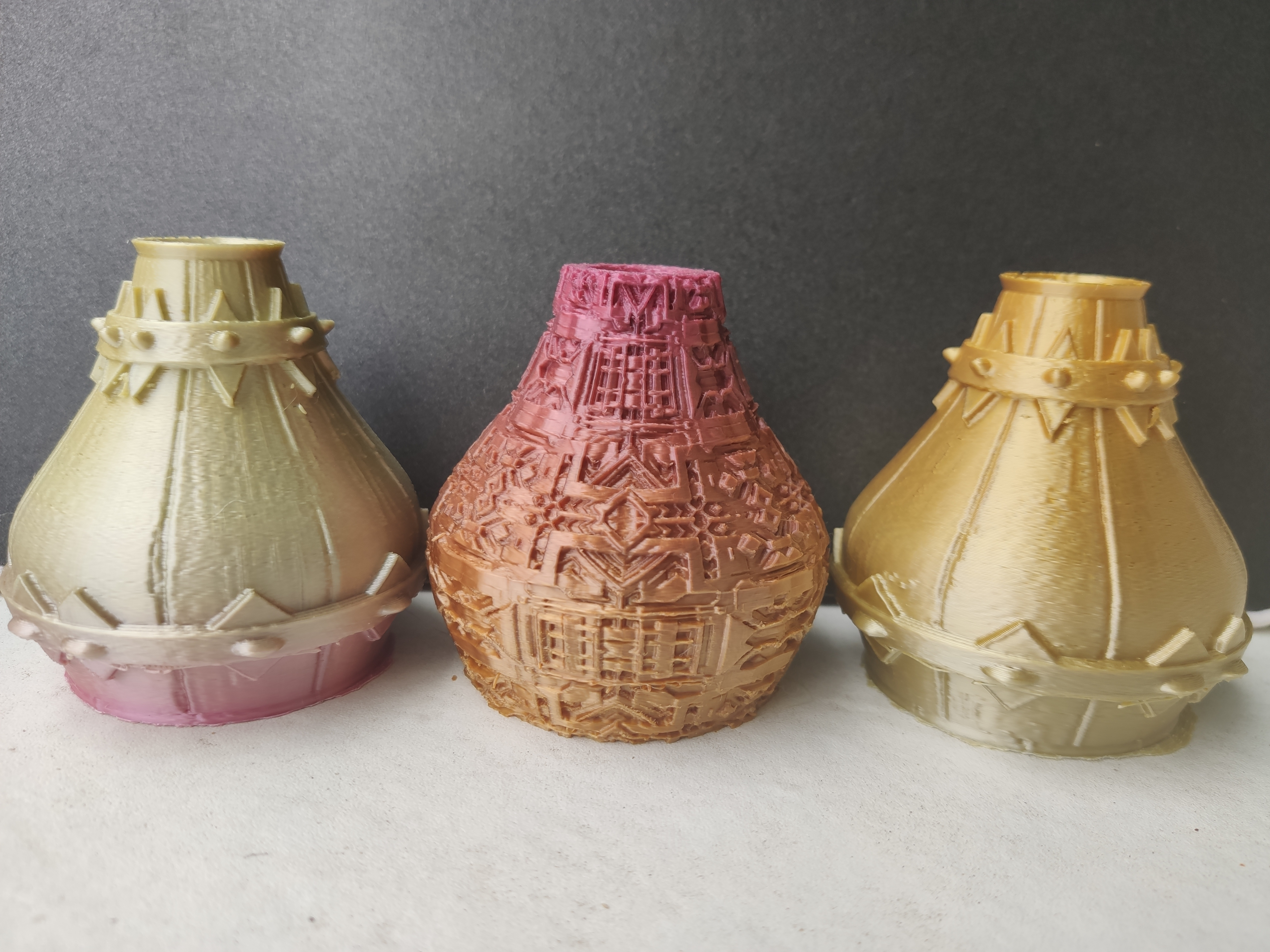 IMG_20200710_131925.jpg Télécharger fichier STL X86 Mini vase collection  • Objet imprimable en 3D, motek
