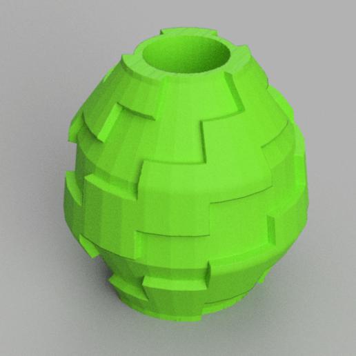 6 rendu 3.png Télécharger fichier STL X86 Mini vase collection  • Objet imprimable en 3D, motek