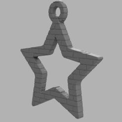 32.png Télécharger fichier STL Etoile creuse  • Plan pour imprimante 3D, motek