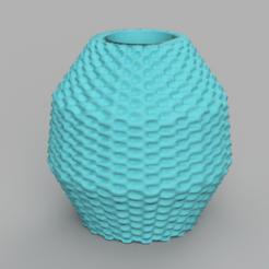 19 rendu 1 .png Download STL file Vase 19 • 3D printing object, Motek3D