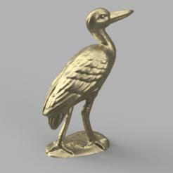 oiseau 2 pres 2 .png Download STL file Oiseau • Template to 3D print, motek
