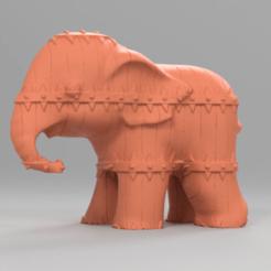 275.png Télécharger fichier STL Elephant  • Modèle pour imprimante 3D, motek