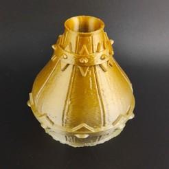IMG_20200718_225351.jpg Télécharger fichier STL Vase tonneau • Plan pour imprimante 3D, motek