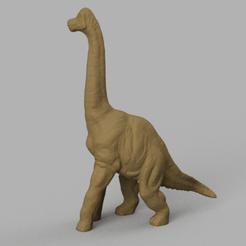 dinosaure au long coup 2 rendu 3.png Télécharger fichier STL dinosaure  • Plan imprimable en 3D, motek