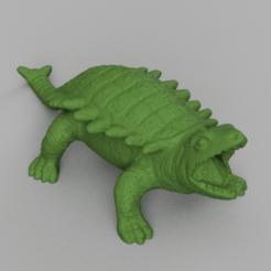 dinausore carapace rendu 4.png Télécharger fichier STL dinosaure carapace  • Plan imprimable en 3D, Motek3D