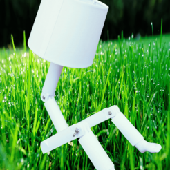 Fichier impression 3D Mini foot lamp , Motek3D