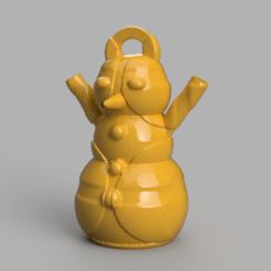 2.png Télécharger fichier STL gratuit Bonhomme de neige • Design imprimable en 3D, motek