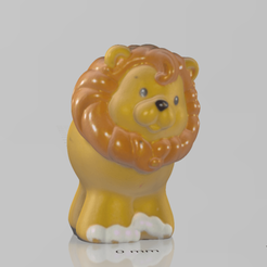 petit lion.png Download free STL file small lion • 3D printable model, motek