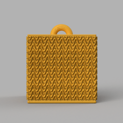 1 rendu guirlande .png Download STL file Garland cube • Model to 3D print, motek