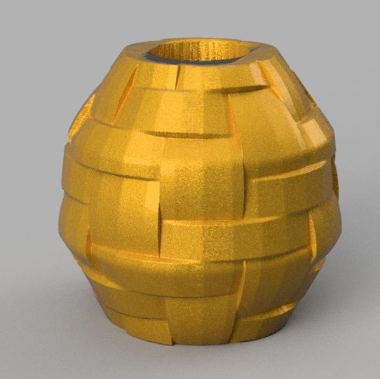 7 rendu 2 .png Télécharger fichier STL X86 Mini vase collection  • Objet imprimable en 3D, motek