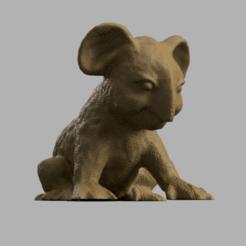 koala pres rendu 1.png Download STL file koala • 3D print model, motek