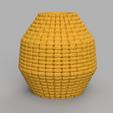 11 rendu 1 .png Télécharger fichier STL X86 Mini vase collection  • Objet imprimable en 3D, motek