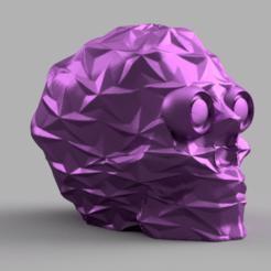 skull star yeux 2 .png Download STL file Skull star • 3D printing object, Motek3D