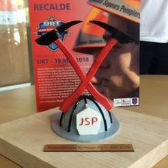 Télécharger fichier imprimante 3D gratuit JSP Sapeur pompier, Motek3D