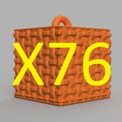pres.png Download STL file garland cube X76 • 3D print design, motek