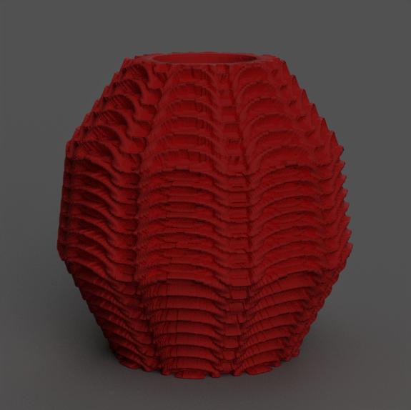13 rendu 1 .png Télécharger fichier STL X86 Mini vase collection  • Objet imprimable en 3D, motek