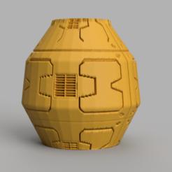 32 rendu 2 .png Télécharger fichier STL Vase 32 • Design pour impression 3D, Motek3D