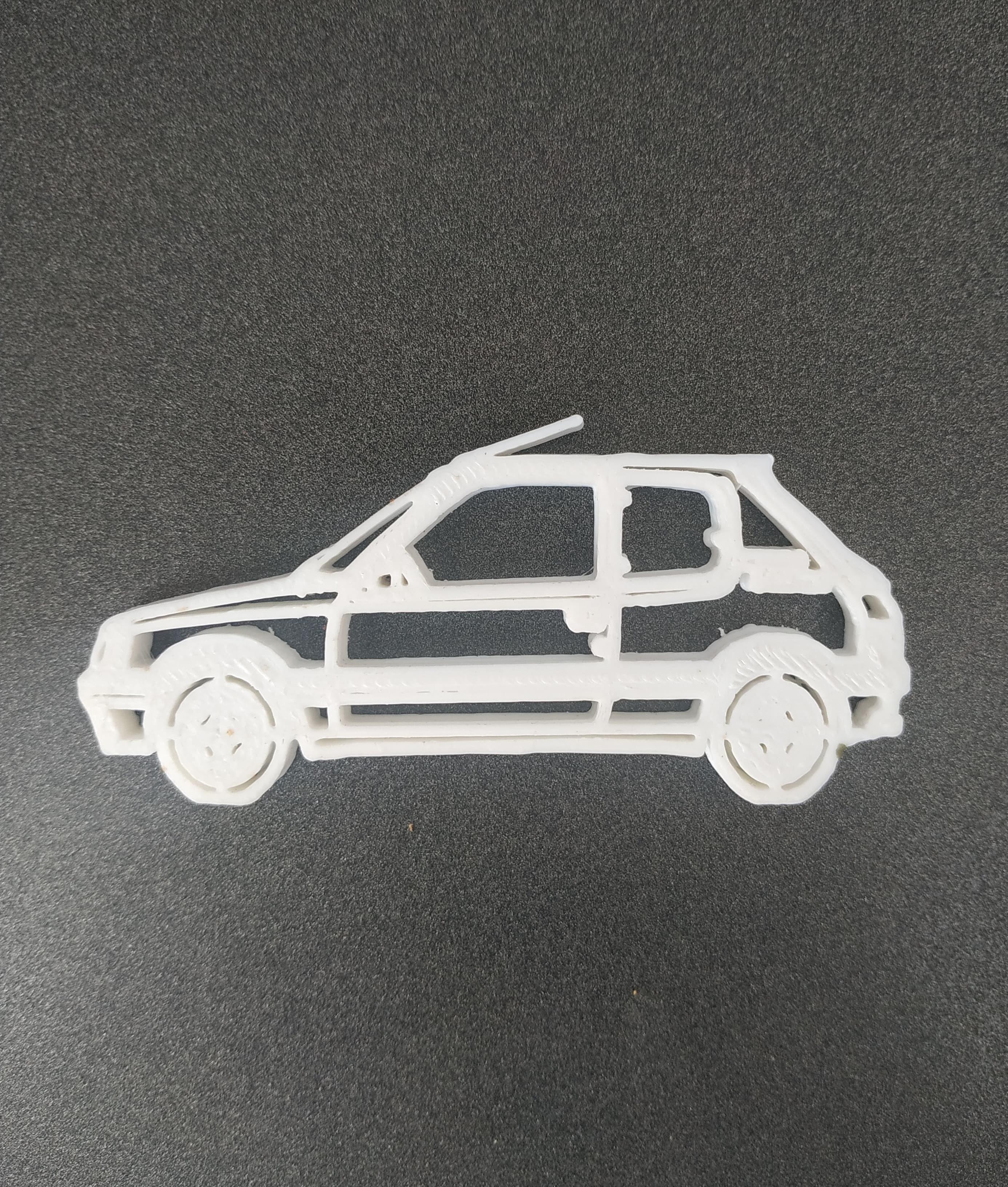 52979959_397204854175184_1258311283267076096_n.jpg Télécharger fichier STL Peugeot 205 keychain • Objet pour impression 3D, motek