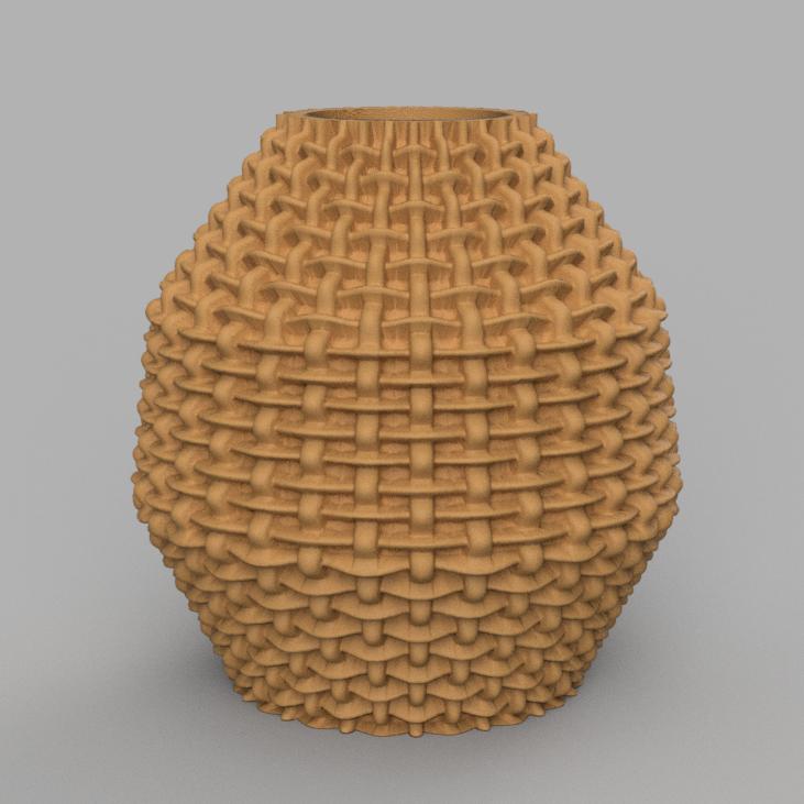 15 rendu 2 .png Télécharger fichier STL X86 Mini vase collection  • Objet imprimable en 3D, motek