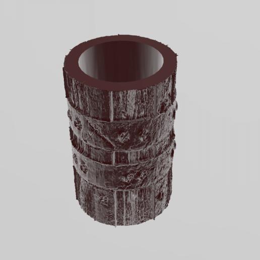 vase bois 2.png Télécharger fichier STL X86 Mini vase collection  • Objet imprimable en 3D, motek