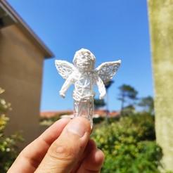 Télécharger plan imprimante 3D gatuit Angel Voronoï, Motek3D