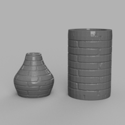 Download free 3D printer model Stone Vase V2 X2, Motek3D