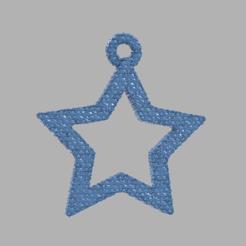 28.png Télécharger fichier STL gratuit Etoile creuse  • Plan pour imprimante 3D, motek