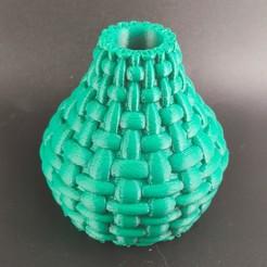 IMG_20200718_225036.jpg Télécharger fichier STL Vase noeud • Plan imprimable en 3D, motek