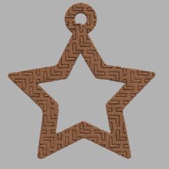 60.png Télécharger fichier STL Etoile creuse  • Plan pour imprimante 3D, motek