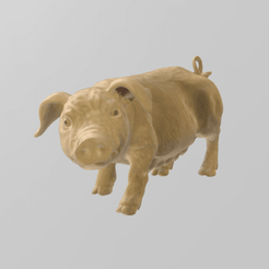 COCHON PRES 2.png Download STL file PIG PIG • 3D print model, Motek3D