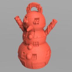 14.png Télécharger fichier STL Bonhomme de neige • Design imprimable en 3D, motek