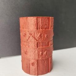 Télécharger fichier STL Vase Wood, Motek3D