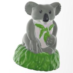 Download free STL file koala • 3D print model, Motek3D