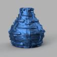 Download 3D printer templates Vase tech, Motek3D