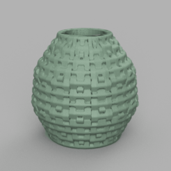 30 rendu 2 .png Download STL file Vase 30 • 3D print template, Motek3D