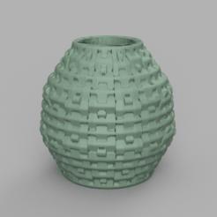 30 rendu 2 .png Télécharger fichier STL Vase 30 • Modèle imprimable en 3D, Motek3D