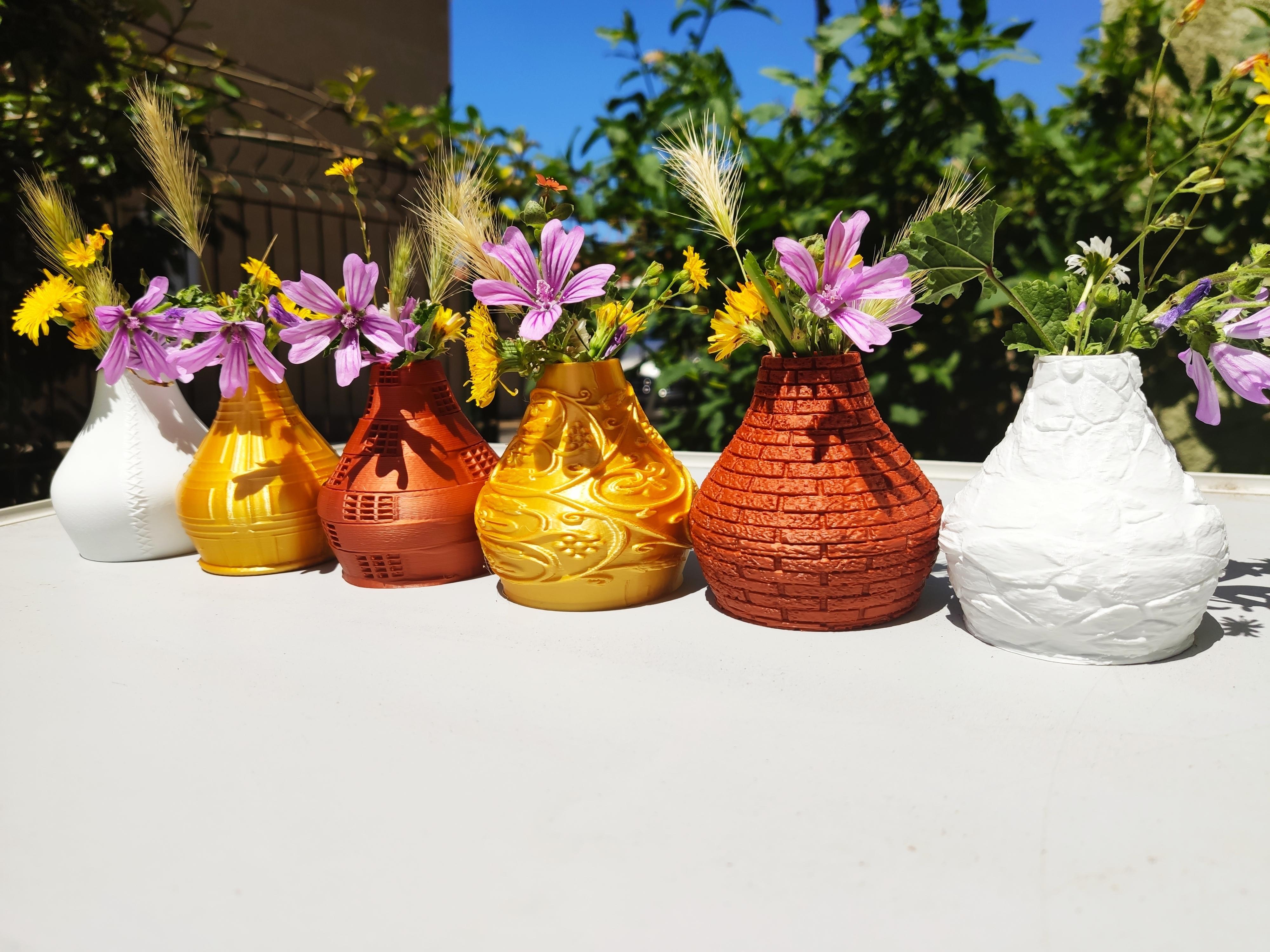 IMG_20200630_152316.jpg Télécharger fichier STL X86 Mini vase collection  • Objet imprimable en 3D, motek