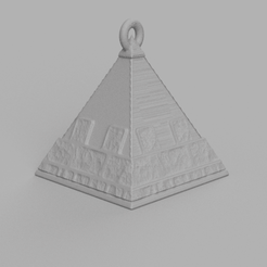 3.png Download free STL file Christmas ball triangle • 3D printer template, motek