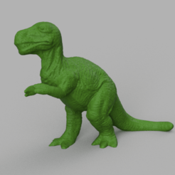 dinosaure rendu 2 .png Download STL file Dinosaur • 3D printing object, motek