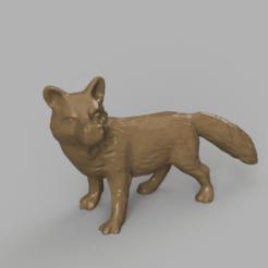 renard rendu 1 .png Télécharger fichier STL Renard • Objet pour impression 3D, motek