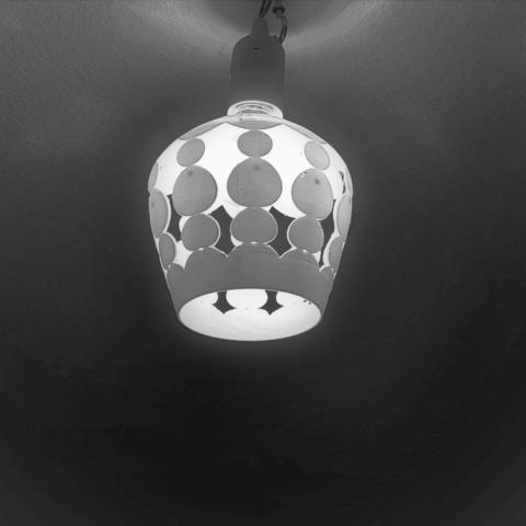 Download free STL files bubble lamp shade, Motek3D