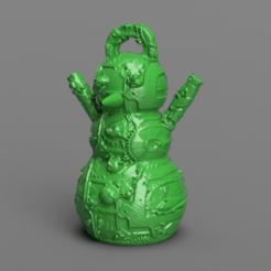 5.png Télécharger fichier STL Bonhomme de neige • Design imprimable en 3D, motek